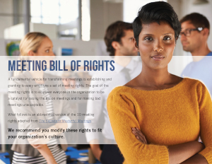 Meeting Bill of Rights