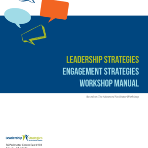 Engagement Strategies Workshop Manual - eBook