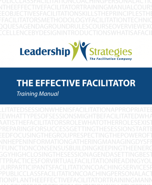 The Effective Facilitator Workbook - 250 pgs