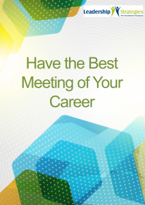 best meeting of your career
